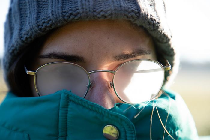 Zamlžené brýle jsou pěkně nepříjemné.