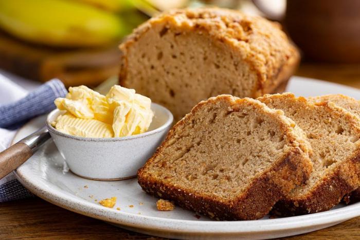 Recept na banánový chlebíček je jednoduchý a zvládne ho každý.