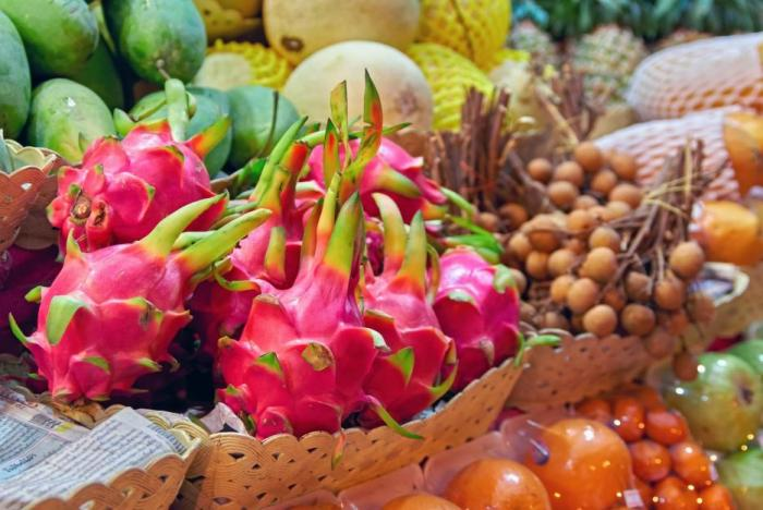 Dračí ovoce pochází z Mexika.