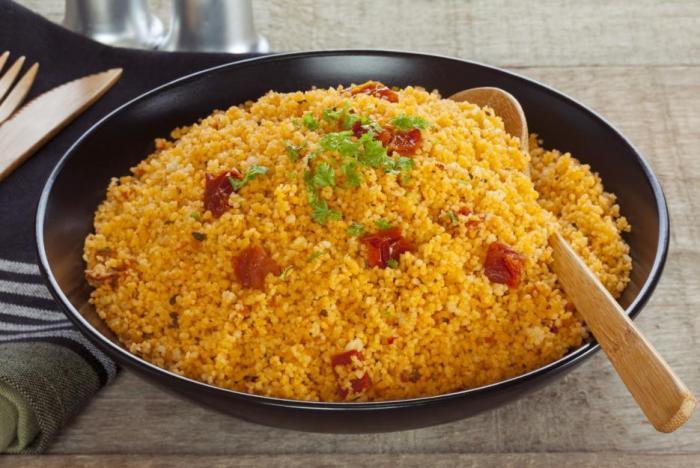 Příprava kuskusu je jednodušší než příprava rýže.