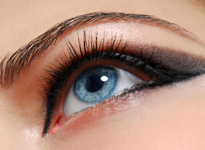 Modré oči symbolizují upřímnost a veselost.