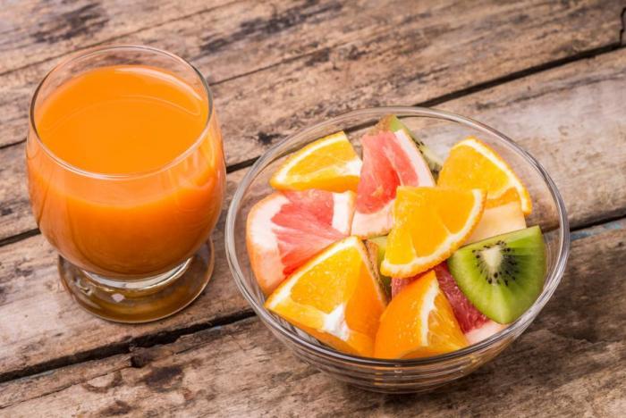 Ovoce se k detoxikaci hodí, stejně jako zelenina.