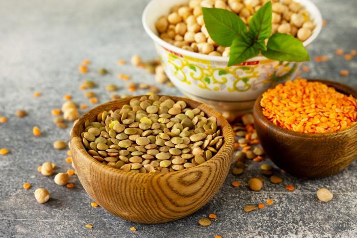 Luštěniny mohou být taky skvělým zdrojem proteinů.