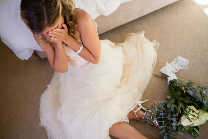 Se svatby může sejít i týden před ní.