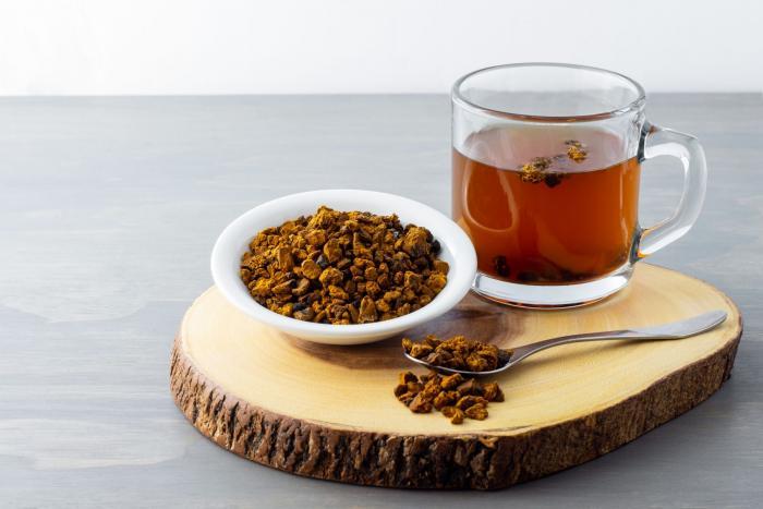 Houbový čaj není úplně nejlahodnější, ale stojí za vyzkoušení.