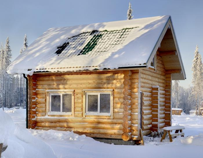 V Rusku a Finsku mají speciální chatky se saunou.