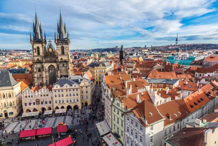 Česká metropole je poklad.