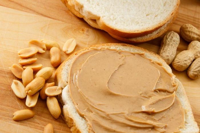 Arašídové máslo pes v malém množství může.