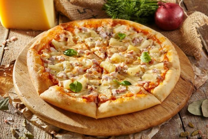 Kdo by si dokázal dát jeden dílek pizzy?