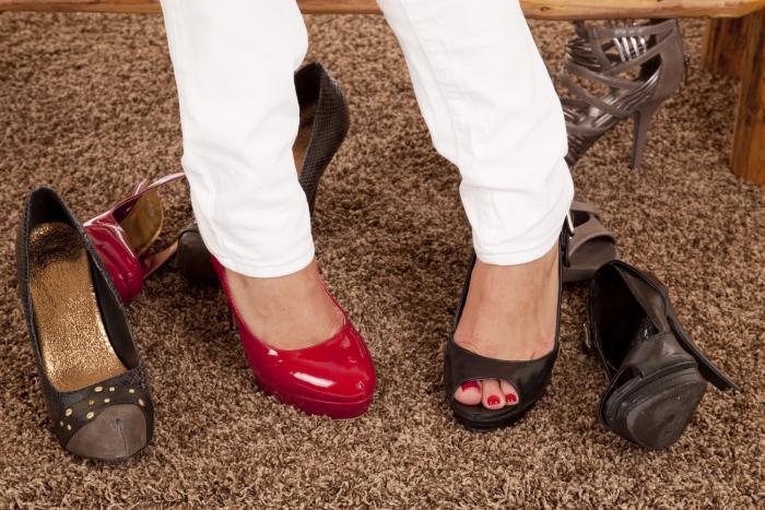 K elegantnímu oblečení jsou elegantní boty nezbytné.