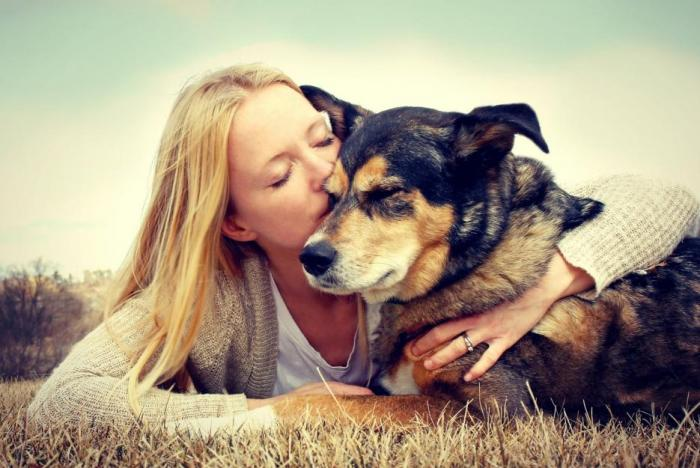 Mluvení se psem je podle psychologů dobré, podle cvičitelů psů nikoli.