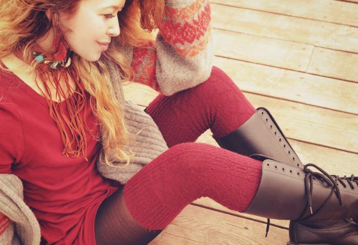 Jestli nosíš vysoké boty bez podpatku, zřejmě budeš velká pohodářka.