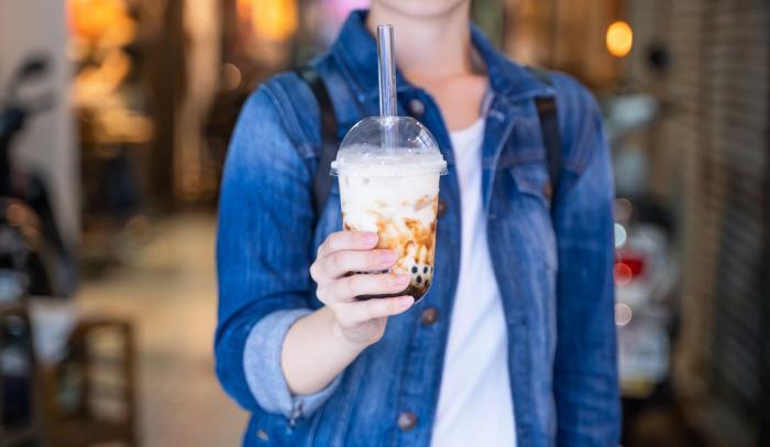 Koupený bubble tea může být plný cukru a chemie.