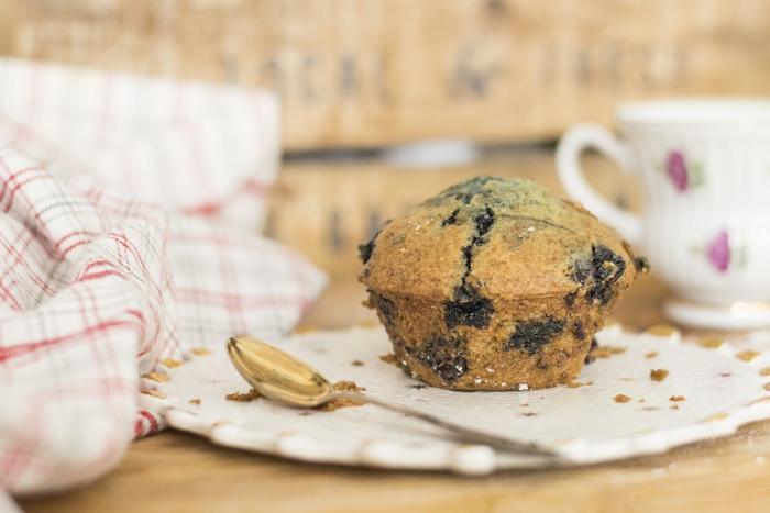 Borůvkové muffiny jsou velmi oblíbené.