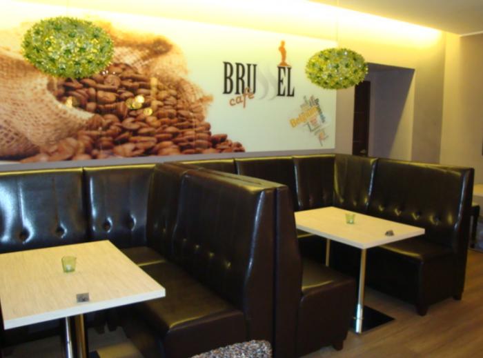 Café Brussel oslní i celou plejádou kávových specialit.