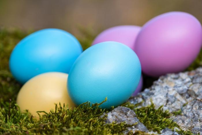Na přírodním barvení vajíček není nic těžkého.