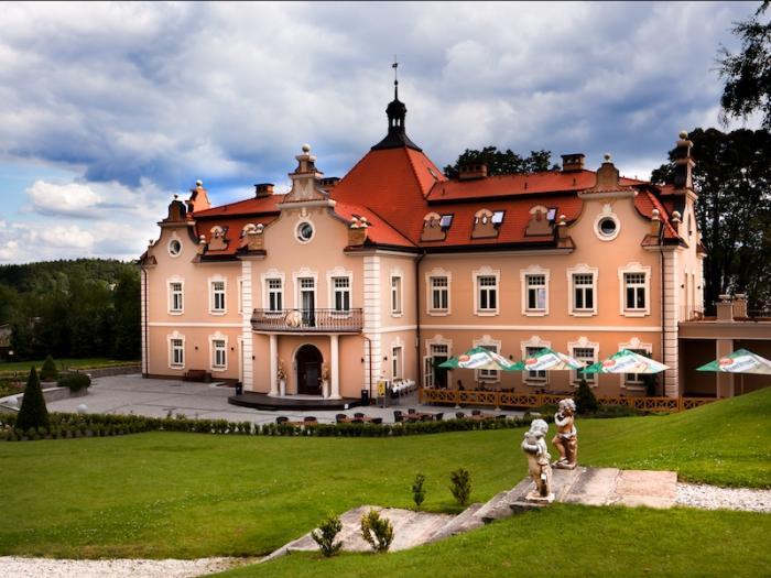 Zámek Berchtold má dlouhou tradici.