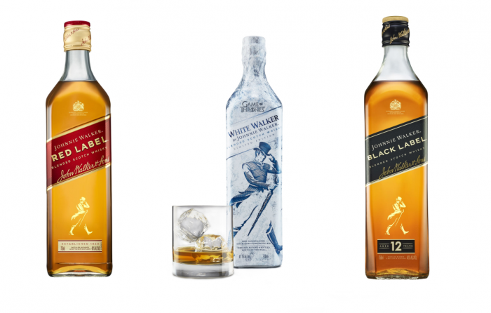 Johnnie Walker je prověřený výrobce alkoholu.