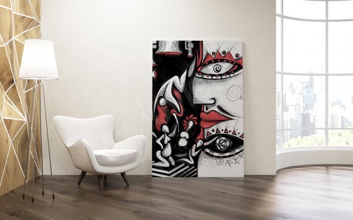U abstraktního umění jde o tvary, ale také hodně o barvy.