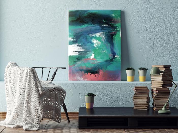 Abstraktní obrazy by měly v člověku vyvolávat pocity blaha.