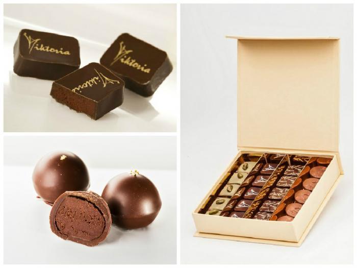 Vychutnejte si kvalitní čokoládu i další suroviny včetně tahitské vanilky v podobě luxusních čokoládových pralinek.