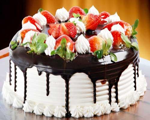 Kombinace ovoce a čokolády, to znamená zaručený úspěch.