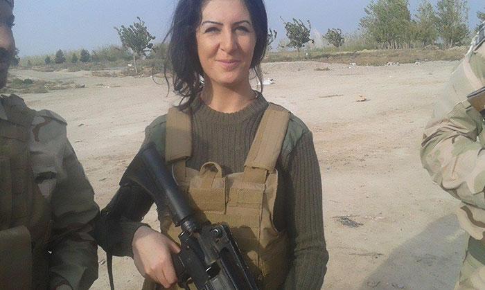 Joanna Palani zabila asi 100 teroristů.