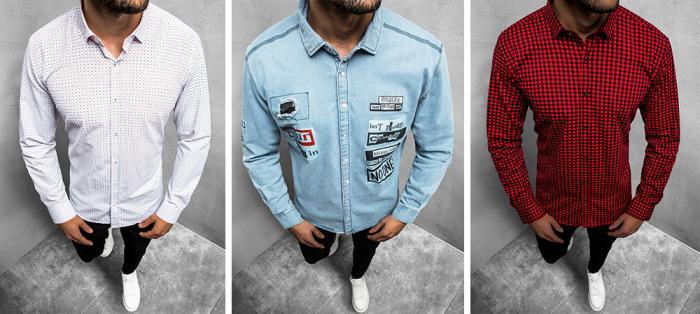 Pánská košile je důležitá součást šatníku.