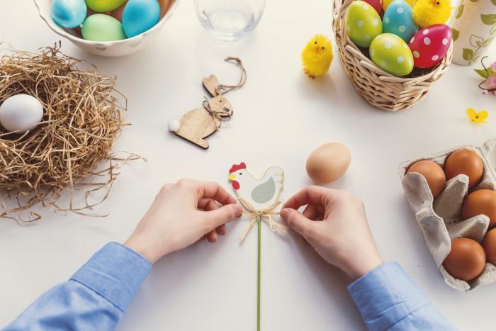 Děti se mohou ledacos naučit hrou, třeba i o Velikonocích.