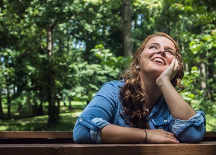Příroda je skvělým objektem k procvičování techniky mindfulness.