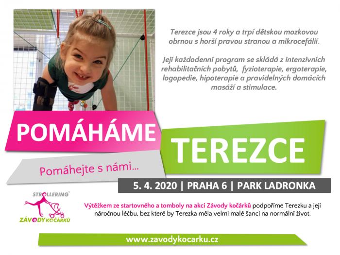Letos se bude pomáhat čtyřleté Terezce, ale i dalším lidem a neziskovkám!