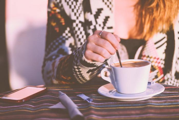 Káva je skvělý povzbuzovák.