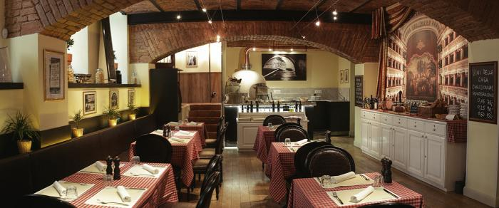 Ochutnej tady pizzu a jiné italské speciality!