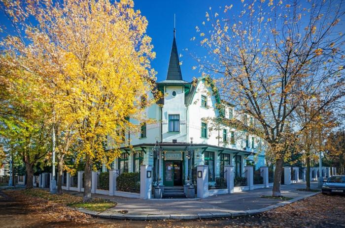 Villa Voyta se pyšní secesním vyvedením.
